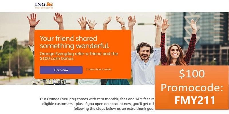 【最新】澳洲ING银行开户送100刀奖励(附在线自助开户完整流程)